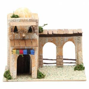 Maisonnette arabe différents modèles 17x10x12 cm s1