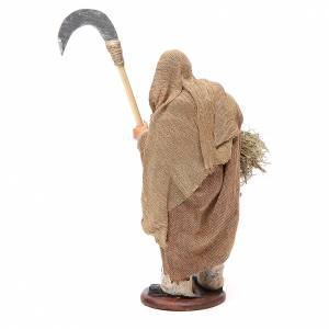 Man with sickle 14cm neapolitan Nativity s3