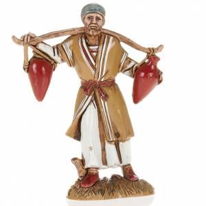 Krippenfiguren: Mann mit Amphoren 10cm Moranduzzo