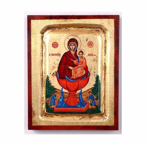Icona Maria fonte della vita serigrafata 1