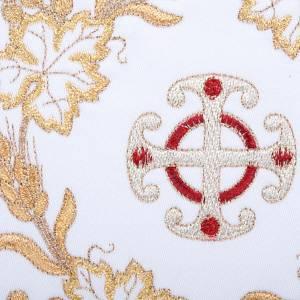 Mass linens 4 pcs, golden cross and ears of wheat symbols s3