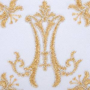Mass linens 4 pcs. Marian symbol and lilies s3