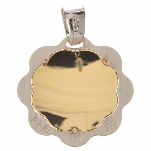 Medalla bautismo oro 750/00 - gr. 1,48 s2