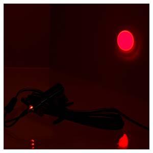 Micro projecteur soleil rouge pour centrales Frisalight s2