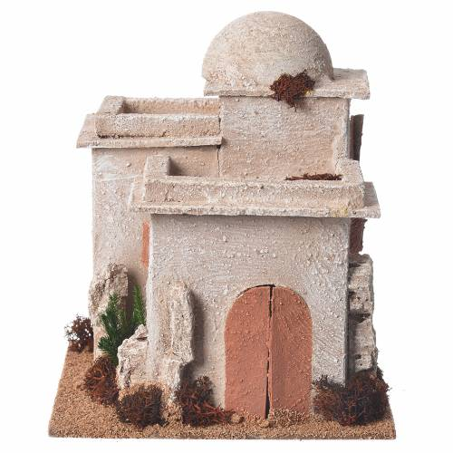 Minaret crèche 17x15x12 cm s1