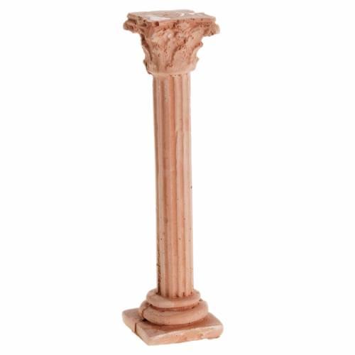 Mini-colonne corinthienne pour crèche s1