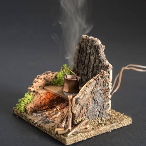 Mini four pour crèche avec fumée, distillé 4