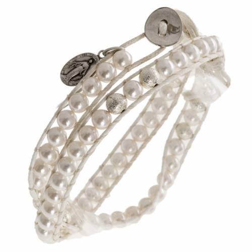 Mother of pearl bracelet 6mm s1