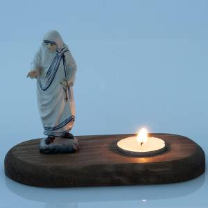 Mother Therese with votive candle s2