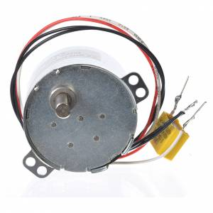 Water pumps and gear motors for nativity scenes: Motor reductor for nativities MV 2.5spin/minute