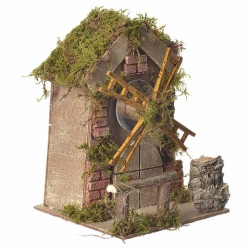 Moulin à vent carillon crèche 5/6cm s2