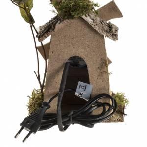 Moulin à vent crèche Noel 4W 15-18t/m 18x13x9 s4