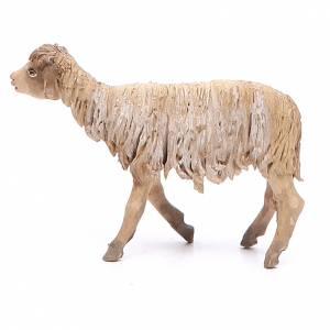Mouton debout 13cm crèche terre cuite Angela Tripi s2
