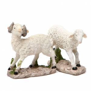 Mouton pour crèche 18cm s2