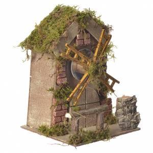 Mulino a vento carillon presepe 5/6cm s2