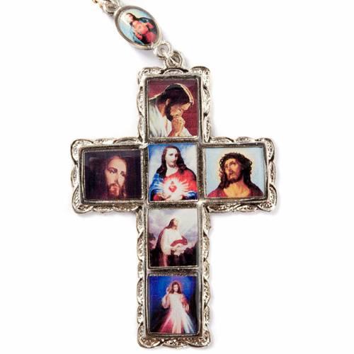Multi-image metal rosary s3