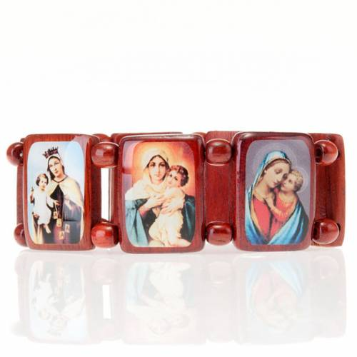 Multi-image strass bracelet s4