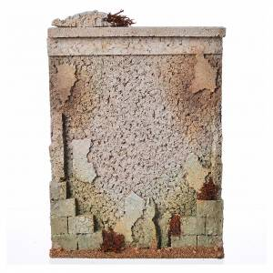 Muro di cinta presepe in sughero s1