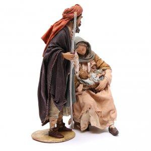 Natività Angela Tripi 18 cm terracotta s4