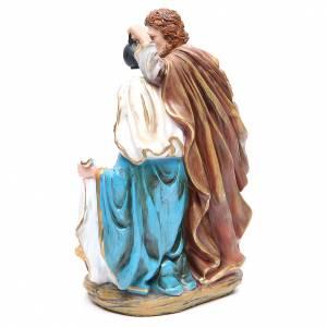 Nativité 3 santons résine h 30 cm s3