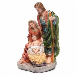 Nativité 40 cm 3 santons résine s2