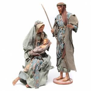 Nativité 90 cm style shabby s1