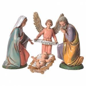 Nativité complète 6  pcs Moranduzzo 10 cm s2