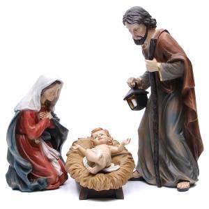 Nativité résine 50 cm set 3 pcs s1