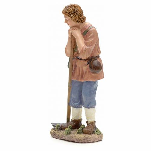 Nativity figurine, farmer with hoe 21cm s2