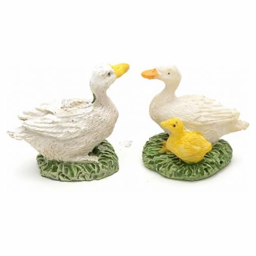 Nativity figurine, resin ducks, 2.5cm, set of 2 pcs s2