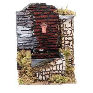 Fountains: Nativity fountain 15x13x10cm, assorted models
