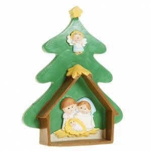 Nativity on a Christmas tree s1