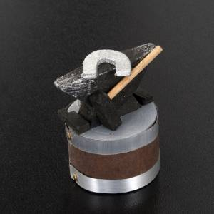 Nativity scene accessory, anvil, 3x5 cm s3