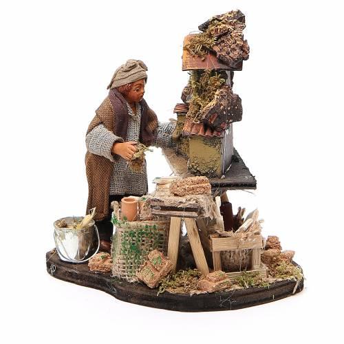 Nativity scene artist, Neapolitan nativity figurine 10cm s2