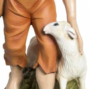 Fiberglass statues: Nativity scene fiberglass figurine, shepherd and sheep 60 cm