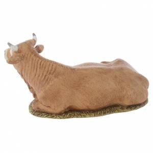 Animals for Nativity Scene: Nativity scene figurine, ox, 11cm by Landi