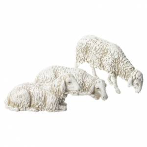 Nativity Scene goat dog and sheep by Moranduzzo 10cm, 8 pieces s2