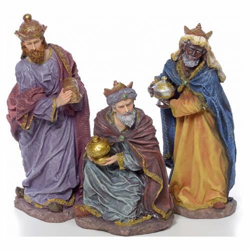 Nativity scene in resin, 12 figurines 63cm s3