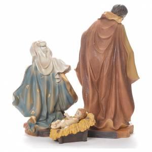 Nativity scene in resin, 30cm coloured s3