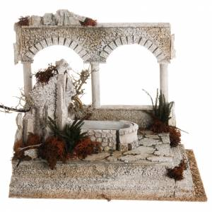 Fountains: Nativity set accessory, arabic fountain