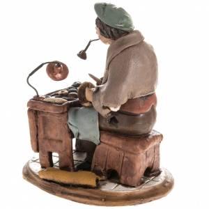Nativity set accessory, Cobbler clay figurine 18cm s4