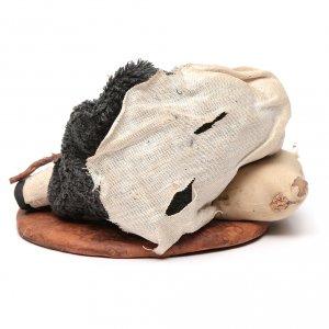 Nativity set accessory man asleep 14 cm figurine s4
