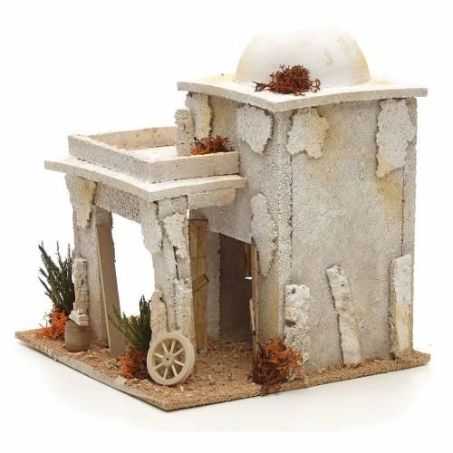 Nativity setting, Arabian house with carpenter workshop s3