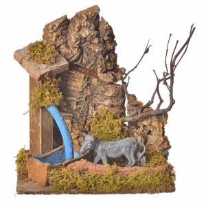Nativity setting, donkey 10cm s1