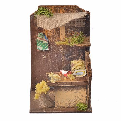Nativity setting, pasta maker workshop 15x9,5x9,5cm s1