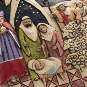 Nativity Star Hanging Ornament by Jim Shore s3