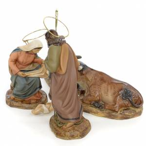 Nativity with 5 pieces, 15cm (antique decoration) s2
