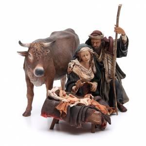 Angela Tripi Nativity scene: Nativity with ox, 30cm by Angela Tripi