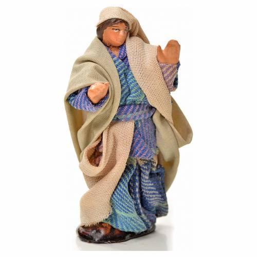 Neapolitan Nativity figurine, man walking, 6 cm s1