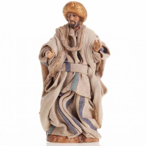 Neapolitan Nativity figurine, Man with turban 8cm s1